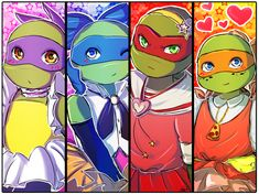Magical TMNT by CutieClovers