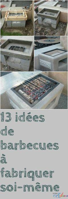 Barbecue Extérieur Deco Pinterest Barbecues Pergolas And Bbq - Construire un foyer exterieur en pierre