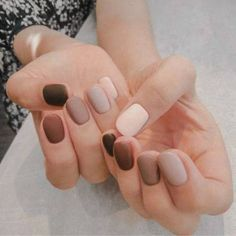 Nageldesign essie Neutrals Nail Polish Kohls Where Is That Hair Way Hair And Nails, My Nails, Salon Nails, How To Do Nails, Neutral Nail Polish, Nagellack Design, Uñas Fashion, Fashion Trends, Minimalist Nails