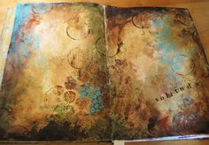Solitude ~ artist Ginger Deverell. The darker colors remind me of autumn. . . . . ღTrish W ~ http://www.pinterest.com/trishw/ . . . . #art #journal