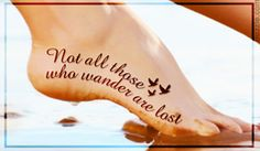 Bohemian tattoo design and quote