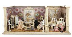 De Kleine Wereld Museum of Lier: 31 Wonderful German Wooden Dollhouse Rooms with…