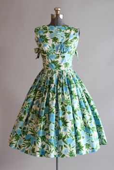 Vintage 1950s Dress / Jerry Gilden / Tuesday Rose Vintage