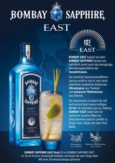 Two new exciting Bombay Sapphires join the ever expanding Blue Frog back bar. Newly launched Bombay Sapphire East 42%ABV and the limited edition Bombay Sapphire Laverstoke Mill 49%ABV