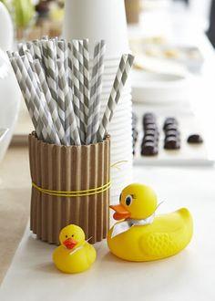 Love the paper straws!