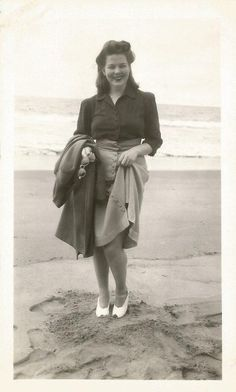 Lovely lady, 1940s