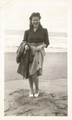 Lovely lady, 1940s