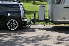 Example Mini Cooper Clubman with Hitch