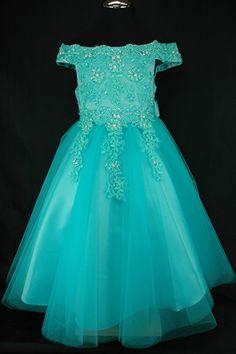 Sissy jurk turquoise