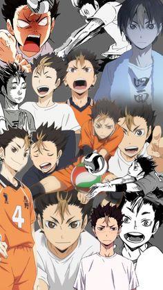 Haikyuu - Nishinoya | he's awesome I love him