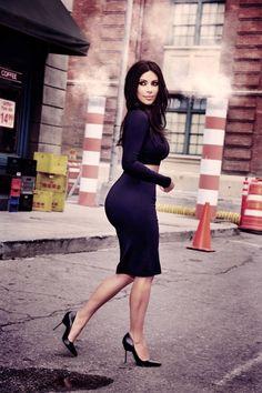 Ainda Sobre Kim Kardashian...
