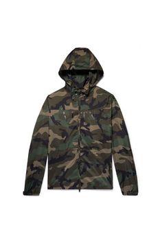 4ab6682f552e4b Valentino Herren Camouflage-print Shell Hooded Jacket - Army green - bei  MYBESTBRANDS entdecken ✓