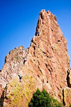 Rock climbing on pinterest indian creek rock climbing - Garden of the gods rock climbing ...