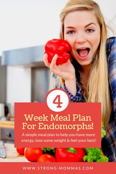 Losing fat and feeling your best as an endomorph can be trickier than the other  body types. But, this 4-week quick-downloadable meal plan removes the guesswork out of eating as an endomorph!! No more calculating macronutrient ratios, measuring portion sizes, or tracking calories!  This meal planner will help you feel your best, decrease body fat, especially around your midsection, and increase your metabolism.