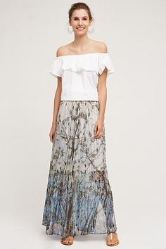 Pahoa Maxi Skirt - anthropologie.com