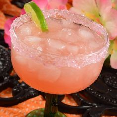 """Lauren's Grapefruit Margaritas I """"Taste tested for our annual """"fiesta"""" and this version is definitely 5 star. So refreshing! The secret is using FRESH SQUEEZED pink grapefruit and key lime juice."""""""