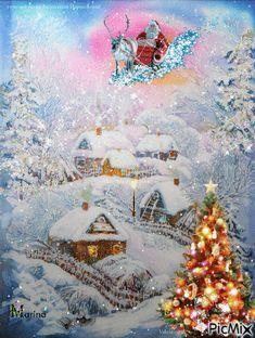 Merry Christmas Gif, Happy New Week, Beautiful, Happy