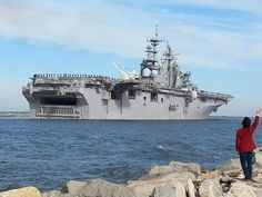 The U.S.S. Iwo Jima deployed from Mayport Thursday afternoon, December 11th, 2014.
