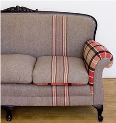 Casual Lovers Elegance : Menswear Style - Blankets Cozy Decor - http://www.upholsterly.com/