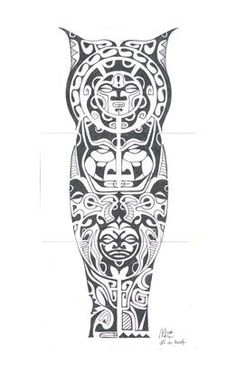 tatuagem.polinesia.maori.0173.perna tattoo by Tatuagem Polinésia - Tattoo Maori, via Flickr: