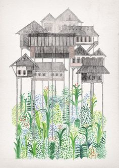 15 Beautiful & Creative Sketchbook Drawings for Inspiration_ David Fleck