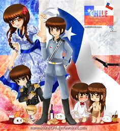 HTMR: Chile bicentenary by nennisita1234.deviantart.com on @deviantART