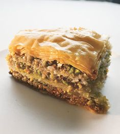 Walnut and Pistachio Baklava | 53 Amazing Pistachio Desserts