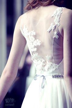 Little wedding dress // Noemi by CarouselFashion on Etsy https://www.etsy.com/listing/195442046/little-wedding-dress-noemi