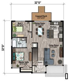 Plan 90299PD: Small And Compact Contemporary House Plan