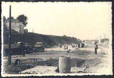 São Paulo - Rara fotografia original antiga, datada de 1936, imagem da abertura, construção e pavimentação da Avenida Rebouças. A fotografia foi feita por um dos engenheiros responsáveis pela obra.