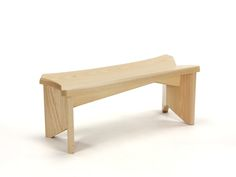 The Smallest One Of A Kind Bench That I Have Designed. This