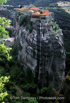 Meteora, Greece: Varlaam Monastery!