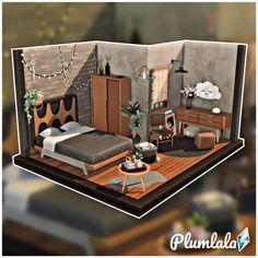 Sims 4 House Plans, Sims 4 House Building, Minecraft Building Designs, Sims 4 Loft, Muebles Sims 4 Cc, The Sims 4 Packs, Sims 4 Bedroom, Sims Free Play, Sims 4 House Design
