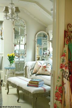 Salvaged Doors and Windows: Outdoor and Room Decoration with Old