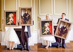art wedding shoot - Google Search