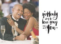 The Love Songs - Happy Anniversary Card #greetingcards #printable #diy #Anniversary Diy Romantic Cards, Happy Anniversary Cards, Diy Valentines Cards, Free Cards, Love Days, Printable Cards, Love Songs, Greeting Cards, Romance