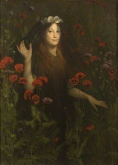 Death the Bride by Thomas Cooper Gotch (1854–1931)