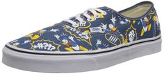 Vans Unisex Disney Donald Duck Skate Shoes-Donald Duck/Navy *** Stop everything and read more details here! : Fashion sneakers