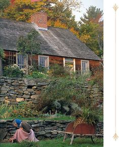 Tasha Tudor's home. Her son, Seth, built it using only hand tools.