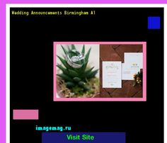 Wedding Announcements Birmingham Al 170318 - The Best Image Search