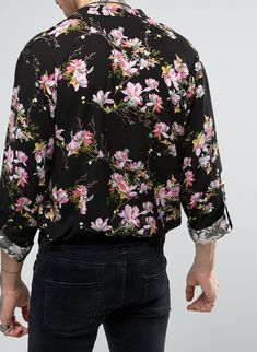 Reclaimed Vintage Inspired Overhead Shirt In Reg Fit from ASOS (men, style, fashion, clothing, shopping, recommendations, stylish, menswear, male, streetstyle, inspo, outfit, fall, winter, spring, summer, personal)