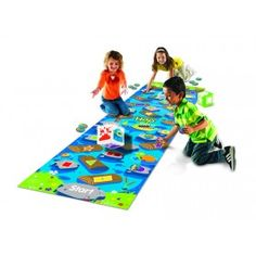 Crocodile Hop™ is a great hands-on math tool that will delight even the youngest learner. This floor-mat game integrates active play into basic math skills such as shape recognition, color recognition and number sense.