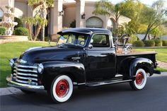 A restored American made classic powered by Chevrolet's 235cid 6-cylinder matched with a 3-speed transmission. This classic has been restored, paying close a...