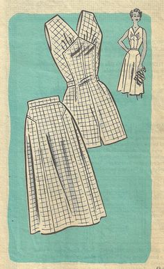 Vintage 1940s Mail Order Sewing Pattern 4802 by studioGpatterns, $22.50