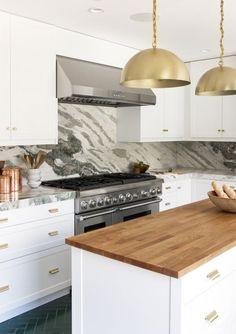 Sarah Sherman Samuel: Herringbone Brick Floor   Installation Gallery    Fireclay Tile Modern Kitchens,
