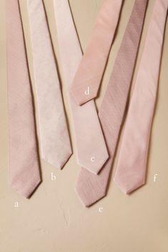 BHLDN Blush Tie Bar Blush Collection in Bridal Party | BHLDN