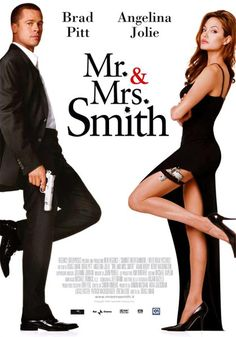 MR & MRS SMITH (Un film di Doug Liman. Con Brad Pitt, Angelina Jolie, Adam Brody - USA 2005)