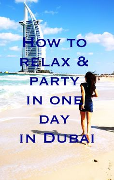 Do you know how to relax and party in only one day in Dubai? Here are some tips I tested for you. Spa, Wellness and Party in Dubai.