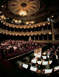 Ljubliana Opera House Performing Arts, Concert Hall, Slovenia, Croatia, Places To See, Opera House, Theater, Buildings, Around The Worlds