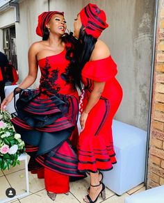 You do things… African Maxi Dresses, Latest African Fashion Dresses, African Print Fashion, African Prints, Shweshwe Dresses, African Clothes, Africa Fashion, South African Traditional Dresses, Traditional Outfits